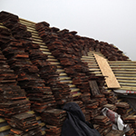 Peg tiled roof: Image 10 of 29