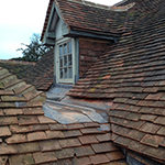 Peg tiled roof: Image 16 of 29