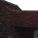 Peg tiled roof: Image 22 of 29