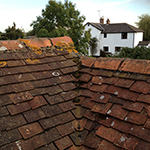 Peg tiled roof: Image 6 of 29