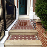 Victorian path with encaustic tiling: Image 19 of 19